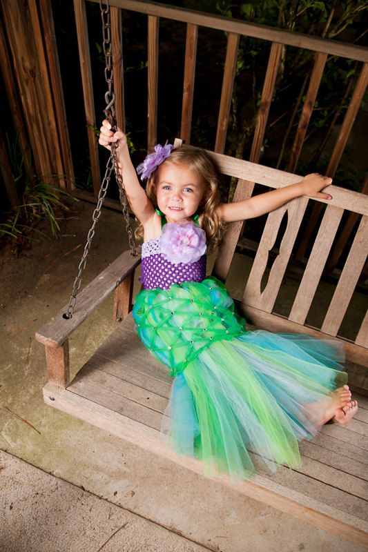 A Little Mermaid Tutu Costume Pageant Party By