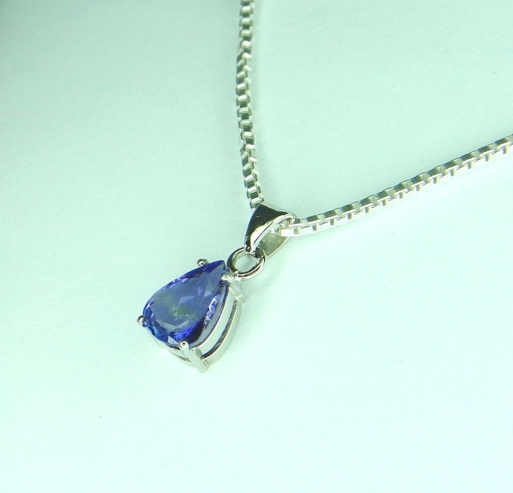 Tanzanite Set in platinum