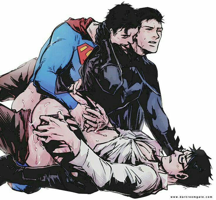 Superman 2 X Batman  Yaoi