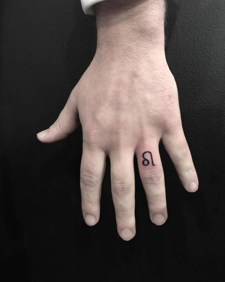 65 Leo Zodiac Sign Tattoos Collection: 17 Best Ideas About Ring Finger Tattoos On Pinterest