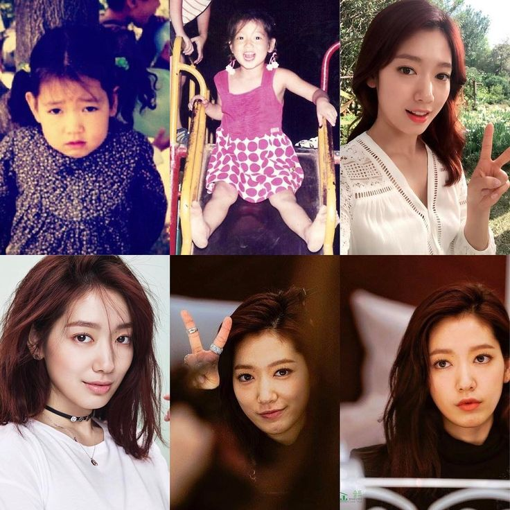 Park Shin Hye over the years