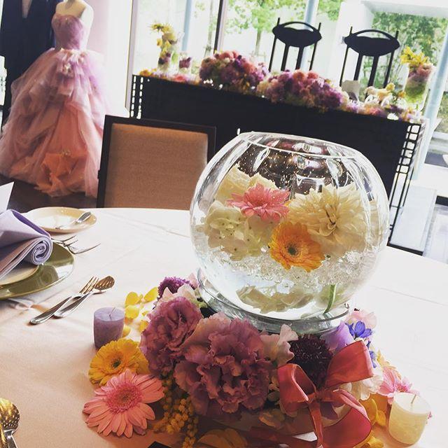 ラプンツェルをテーマに✨  お二人のテーマをお花で表現    #麗風つくばシーズンズテラス   #茨城#つくば#結婚式  #研究学園  #ラプンツェル  #フラワーコーディネート  #プレ花嫁  #wedding  #flower