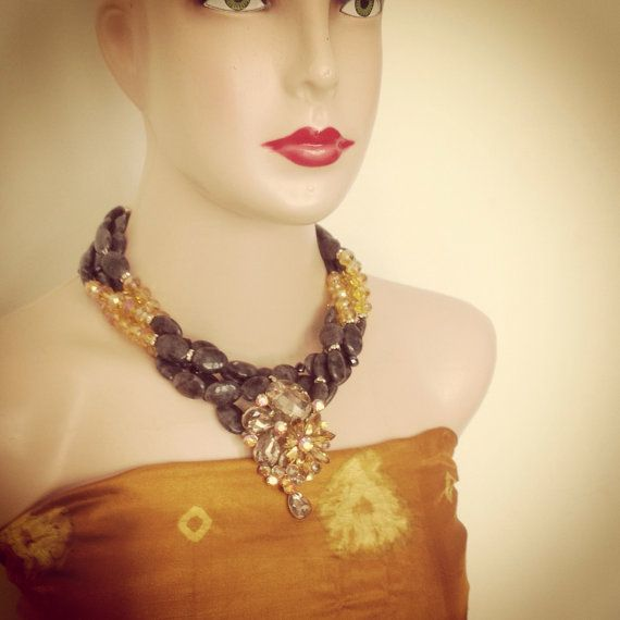 Bali Choker for The Bride by GraceSabarus on Etsy, $129.00