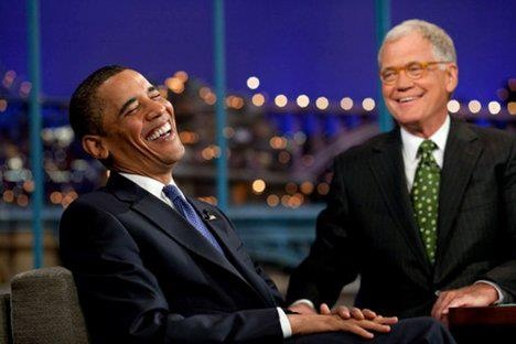While radical Muslims kill our ambassador and staff, Obama laughs it up with David Letterman. Liberals respond by criticizing Romney for questioning Obama's response.  Our president is filming the Letterman Show right NOW to be shown at 11:30. The Girlie-Boy did NOT have time to meet w/ Mr. Netnanyahu or deal w/ our Ambassador being KILLED!