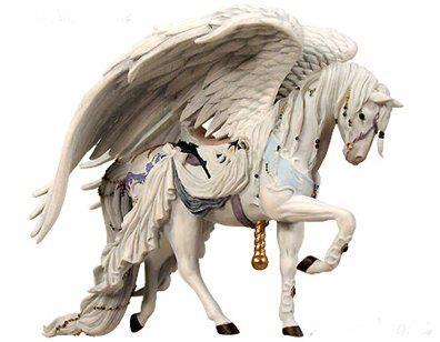 Nene Thomas Couture Carousel Horse Angel White  http://nenethomas.com/: Carousels Horses, Angel White, White Hors, Thomas Couture, Christmas Ornaments, Hors Angel, Nene Thomas, White Kitchens, Couture Carousels