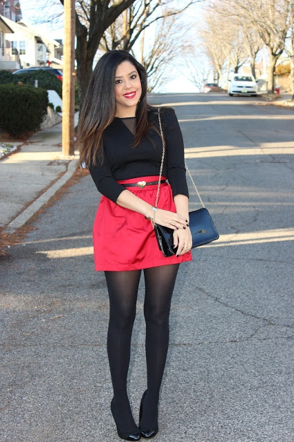 A Love Affair With Fashion : Holiday Outfit Idea