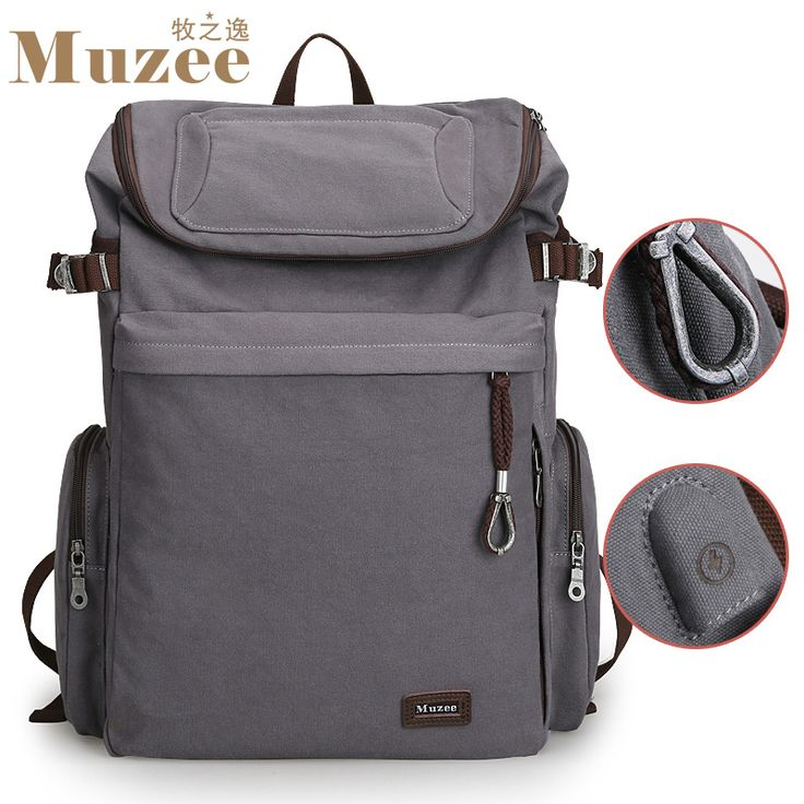 2017 New Muzee Brand Vintage backpack Large Capacity Duffle bag //Price: $53.30 & FREE Shipping //     #backpacking #fishing #friends #trekking #wilderness