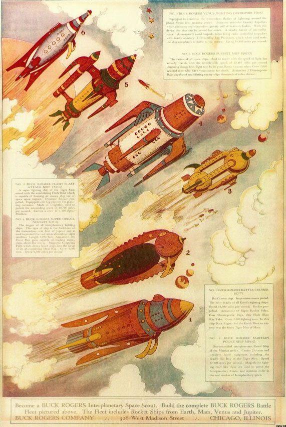 BUCK ROGERS Battle Fleet