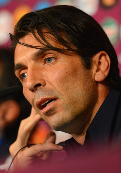 Gianluigi Buffon Photo - Italy Training and Press Conference - Group C: UEFA EURO 2012