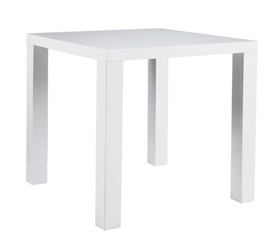 Buy Hygena Lyssa 80 x 80 Small Gloss Table at Argos.co.uk, visit Argos.co.uk to shop online for Dining tables, Dining tables and chairs, Home and garden