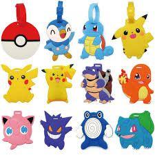 Resultado de imagen para etiquetas de pokemon para utiles escolares