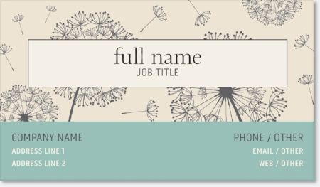 Why You'll Love Green Holistic Standard Business Cards