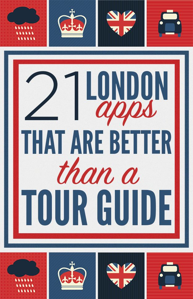 If you're tired of London apps, you're tired of life.