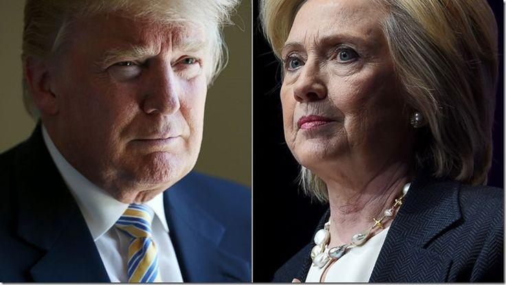 Hillary Clinton y Donald Trump, casi empatados en la lucha por la presidencia - http://www.leanoticias.com/2016/01/10/hillary-clinton-y-donald-trump-casi-empatados-en-la-lucha-por-la-presidencia/