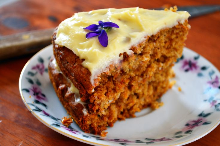 Low GI carrot cake