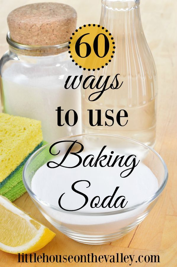 60 Ways To Use Baking Soda! The perfect old fashioned staple item no home should be without.  You are going to love these amazing ideas for natural remedies, and cleaning recipes in your household.