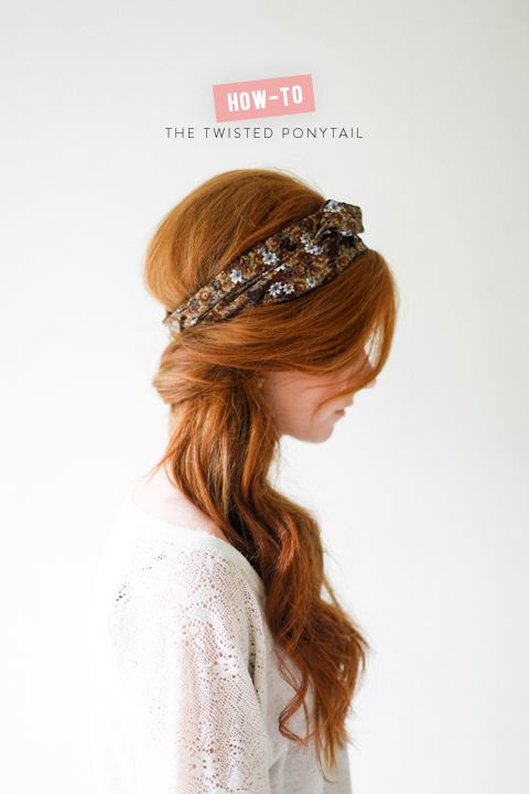 The twisted ponytail  - romantic bridal hair  ~  we ❤ this! moncheribridals.com