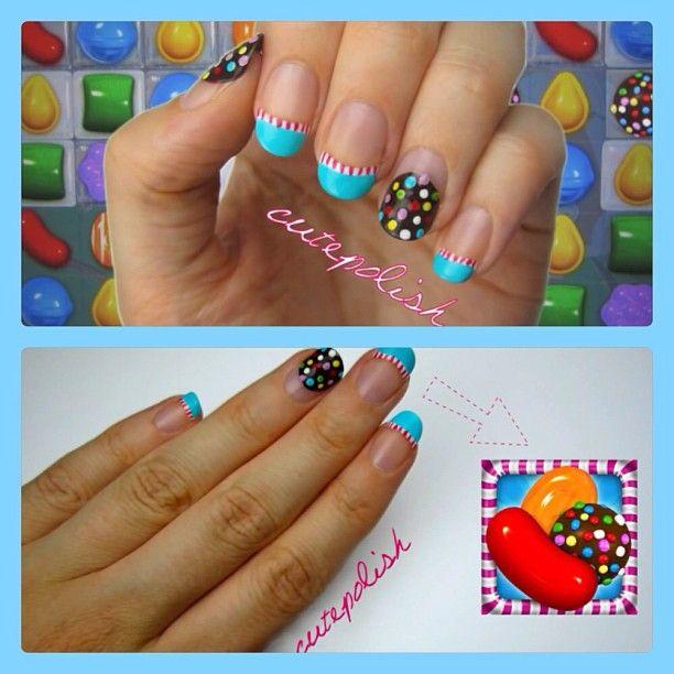 CANDY CRUSH nails: cutepolish!
