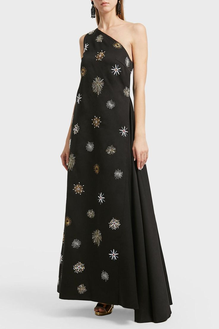 OSMAN ORION EMBROIDERED GOWN. #osman #cloth #