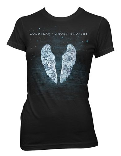 Coldplay Ghost Stores Womens T-Shirt
