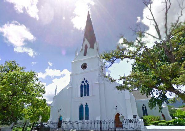 Moederkerk Stellenbosch - Google Street View Dutch Reformed Church (Moederkerk) in Drostdy Street.
