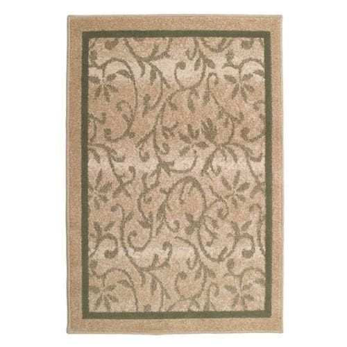 """Woodfield 72065 Valane Driftwood (Brown) 31"""" x 45"""" Olefin Contemporary Indoor / Outdoor Rug by Orian Rugs"""