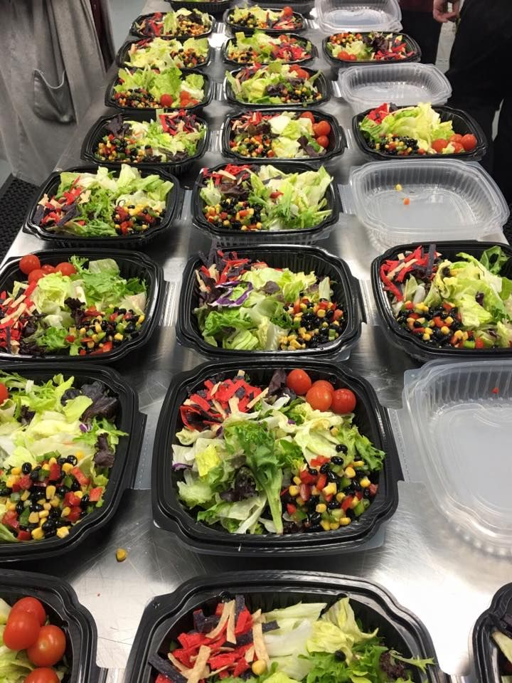 Tastefully Yours Events and Catering: Salads (corporate event)
