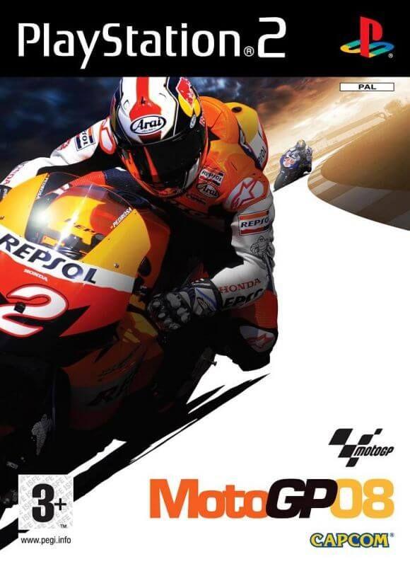Game PC Rip - MotoGP 08 [PAL] [Multi-7] para PS2