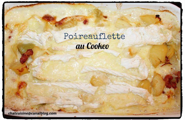 Poireauflette ou tartiflette aux poireaux au Cookéo.