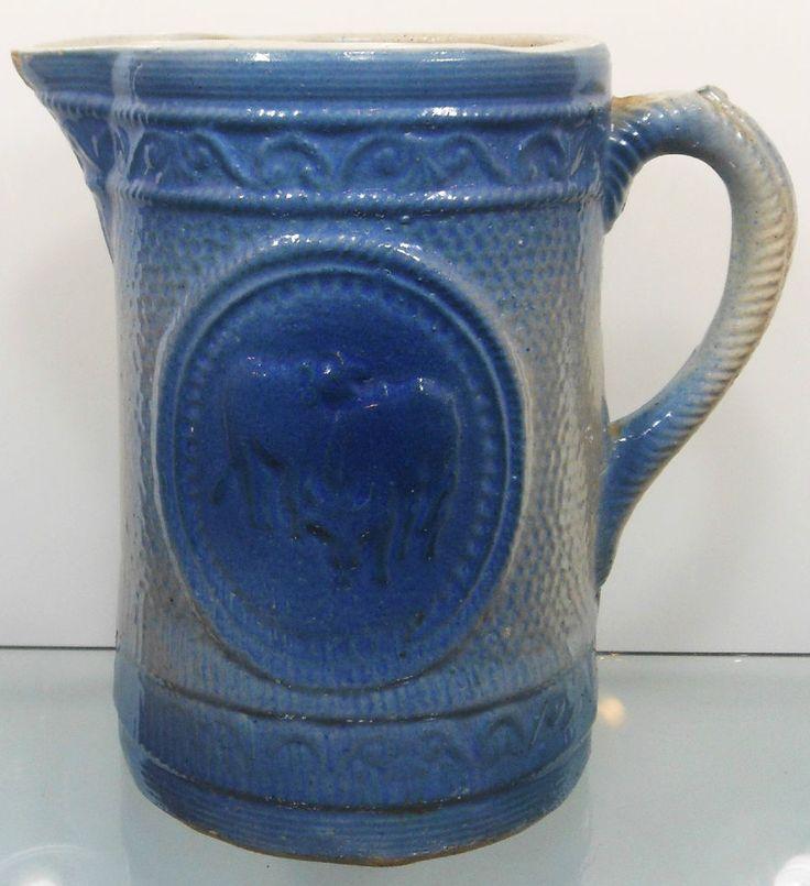 543 Best Stoneware Spongeware Blue And White Images On