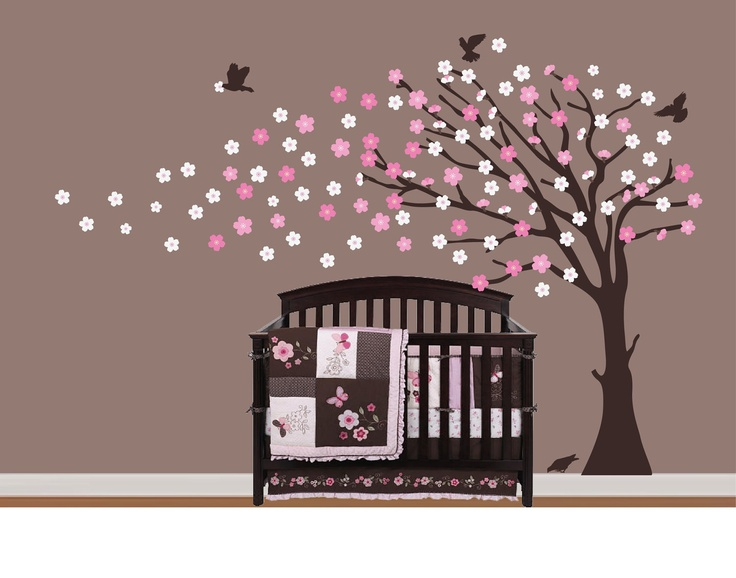 10 Best Asian Japanese Cherry Blossom Tree Vinyl Wall Art