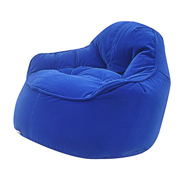 Modern Bean Bag Mini Me Pod Small Bean Bag Chair - MBB918RB - ROYAL BLUE