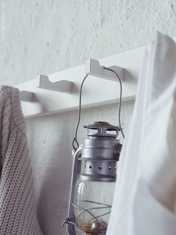 Enkel och funktionell, KUBBIS rejäla krokar fixar hänget.