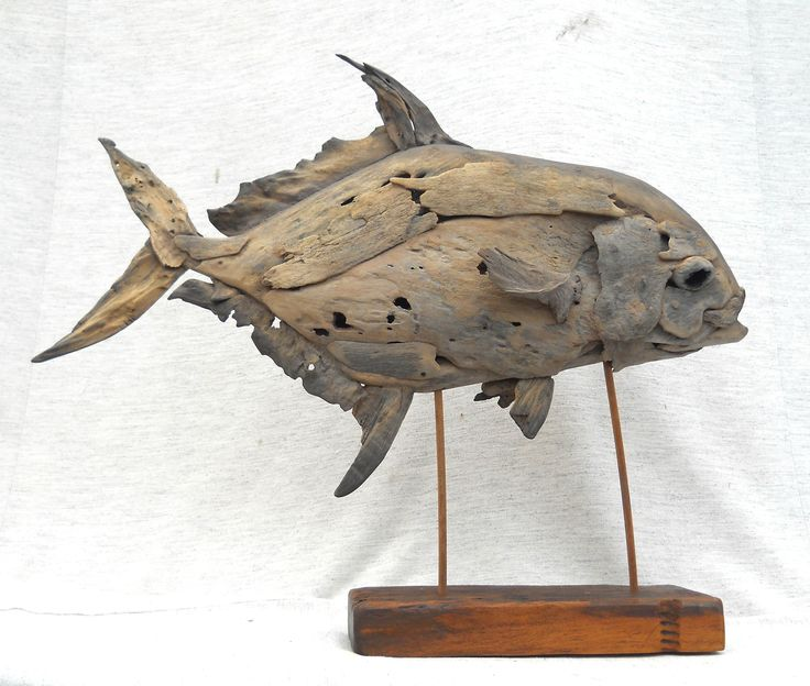 76 best fish by tony fredriksson for Driftwood sculpture ideas