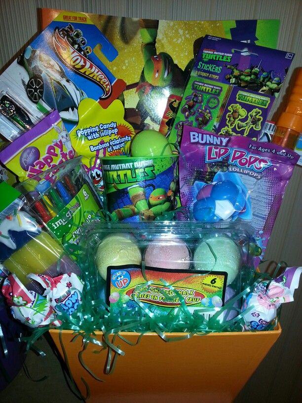 Ninja Turtle Easter Basket Simply Beautiful Pinterest