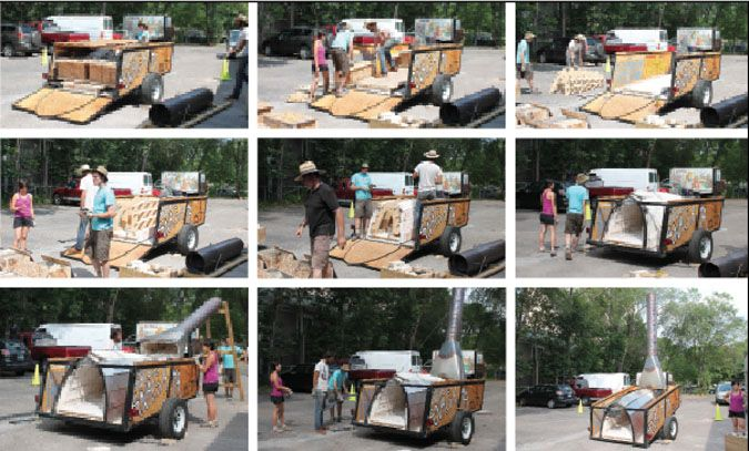 Picture this: a mobile anagama; literally a wood-burning kiln specifically designed to fit into a custom trailer, allowing it to travel across the country teaching the wood-fired experience to new communities.  Sounds pretty crazy, right? But when Henry James Haver Crissman got fed up with the red tape involved in building a stationary wood... Read More »