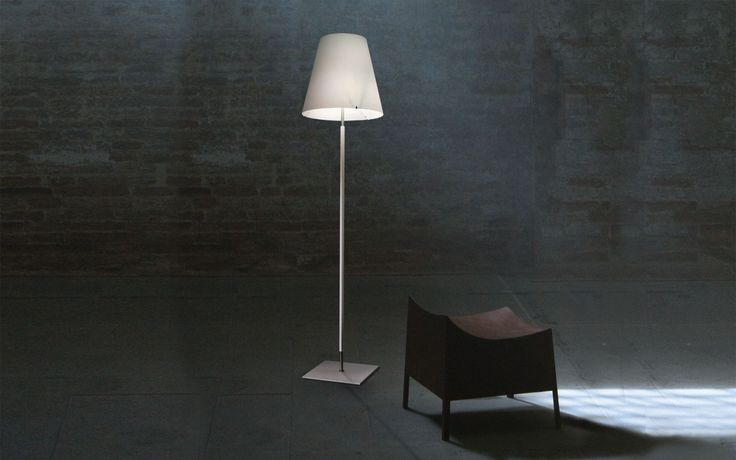 Candy TR floor lamp by Murano Luce
