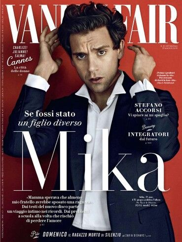 Mika for VanityFair Italy Bellissimo (from @mikasounds)