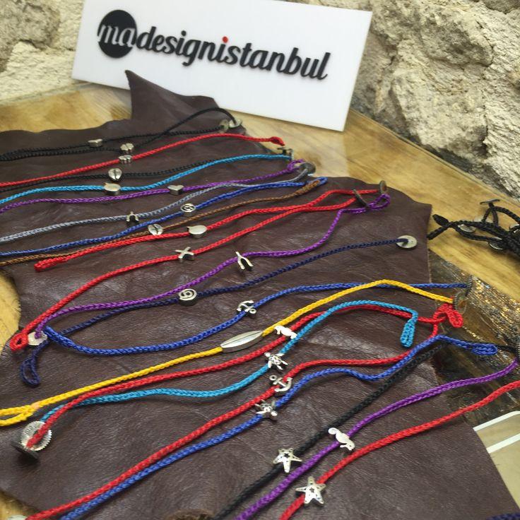 @madesignistanbul symbol bracelets in bybeycan Alacati İzmir.