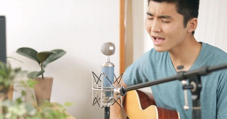 Teen Sings Beautiful Cover Of Jesus Paid It All -5515