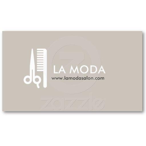 Modern Business Card | Hair Salon / Stylist
