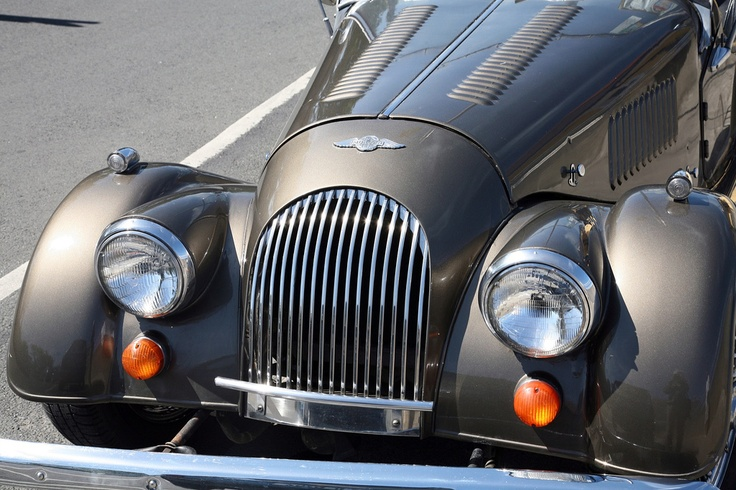 MORGAN: The Morgan sports car, with its flowing lines and nostalgic look, draws attention wherever it goes. Its owners, however, must answer a barrage of questions when stopped at a traffic light or parked in town such as, 'It's a antique?' or 'Is it a replica?.    It is not a not antique, although it is made with the quality and craftsmanship of one. Neither is it a replica, even though ten will be produced this week. And it's definitely British.
