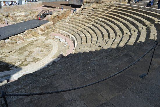 Roman Theatre: Constructed 16 to 15 BCE