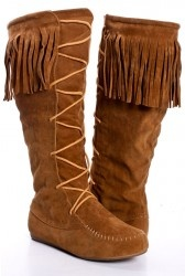 fall boots: Moccasins Boots, Moccasins Knee, Knee High Boots, Shoes Boots, Bridesmaid Shoes, Shoe Boots, Fall Boots, Cowboys Boots, Fringes