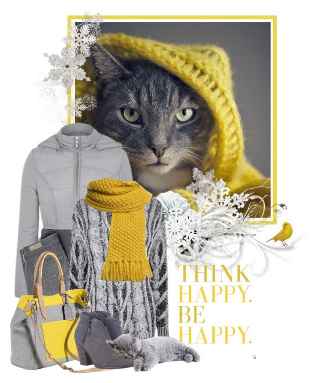 """""""grey & yellow"""" by sagramora ❤ liked on Polyvore featuring George, AG Adriano Goldschmied, Joseph, Lala Berlin, Cole Haan, rag & bone, women's clothing, women, female and woman"""