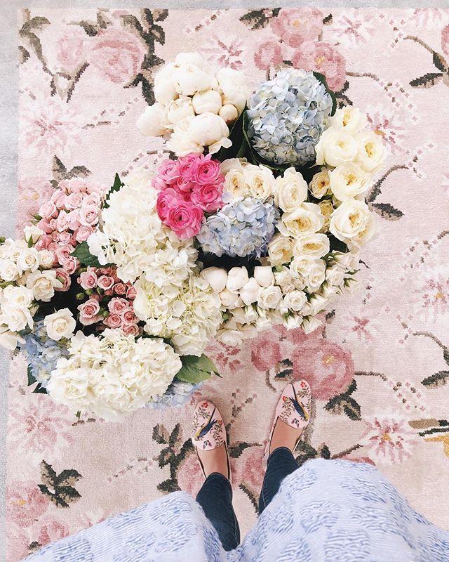 florals on florals