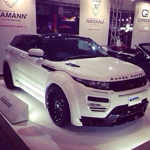 Range Rover Evoque- just the most beautiful car I've ever seen!
