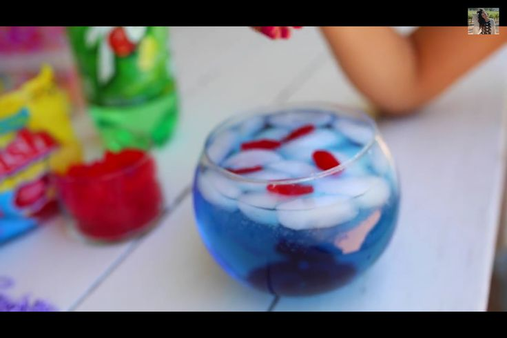 Bethany mota swedish fish drink recipies pinterest for Swedish fish shot