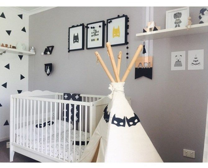 Monochrome Nursery Decor