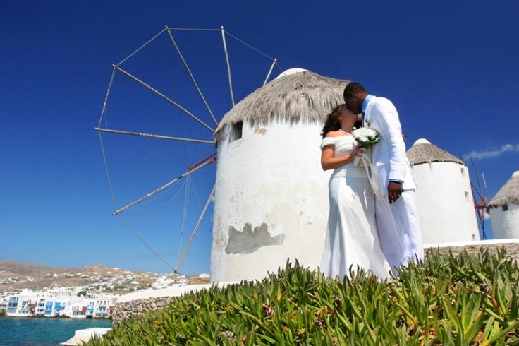 Bruiloft Mykonos, Griekenland #bruidsfotograaf #bruidsfotografie Dario Endara